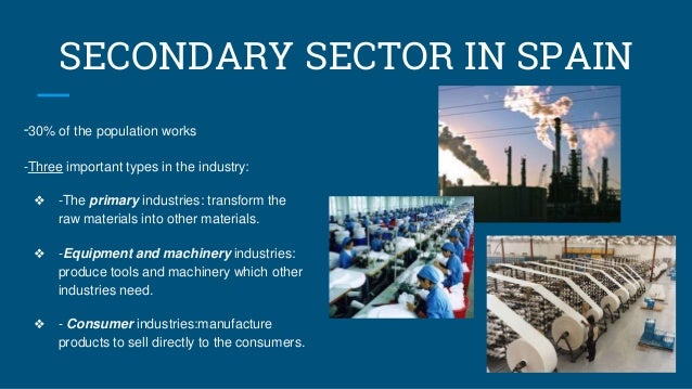 Secondary Sector In Spain And The Basque Country