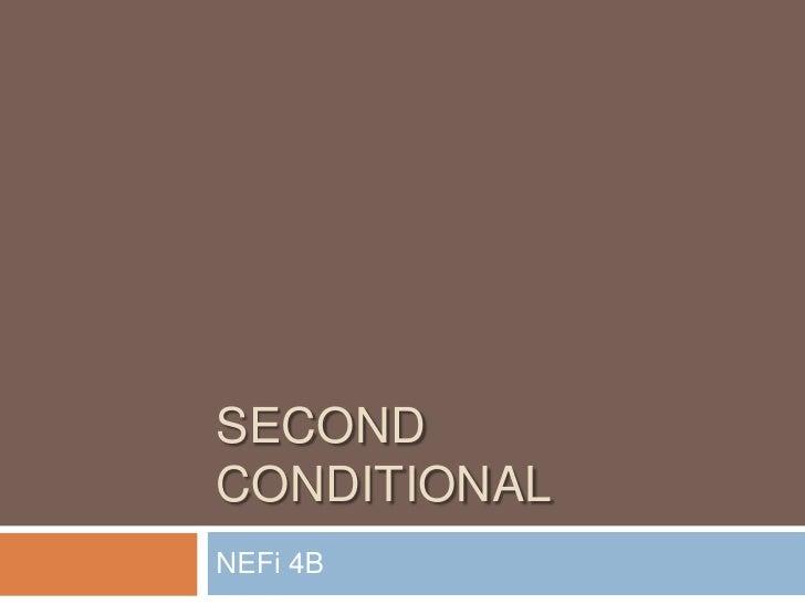 SecondConditional<br />NEFi 4B<br />