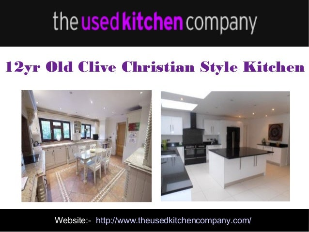 Second Hand Designer Kitchens