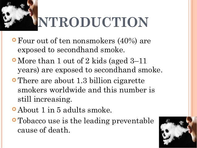 secondhand smoke powerpoint This lesson plan provides comprehensive coverage of the risks of secondhand  smoke a complete powerpoint presentation and corresponding, interactive.