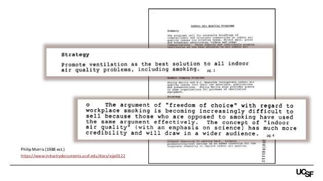 pg. 4 https://www.industrydocuments.ucsf.edu/docs/xsjx0122 Philip Morris (1988 est.) pg. 1