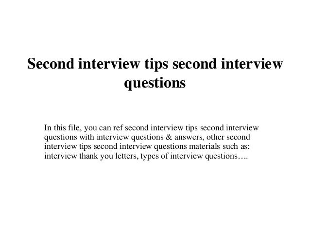 second interview thank you letter second interview tips second interview questions 1 638 jpg cb 1437470906
