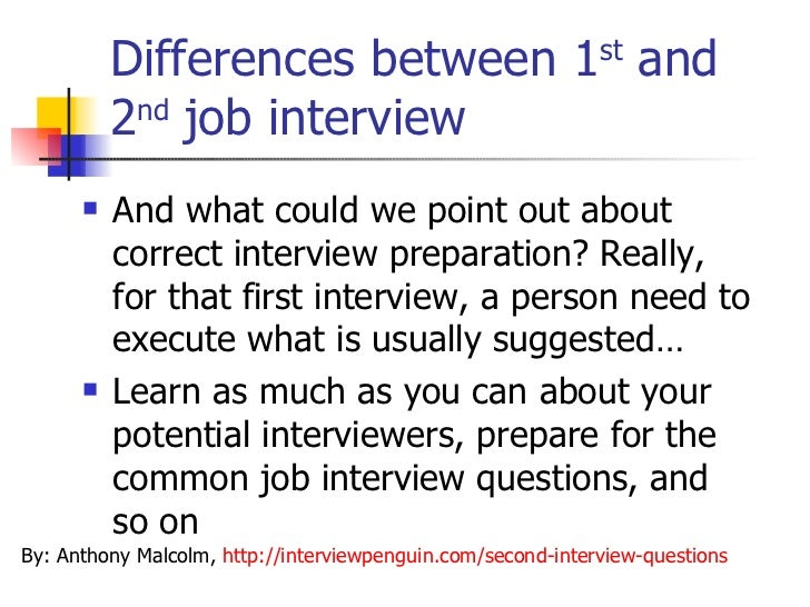 2nd interview preparation - Hizir kaptanband co