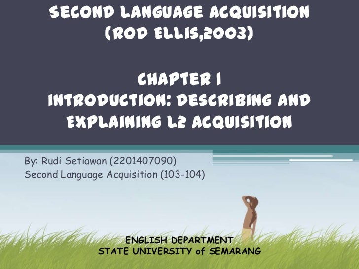 the aspects of second language acquisition Second language acquisition to both teachers and learners of a second language tongue and the second language acquisition share different aspects.