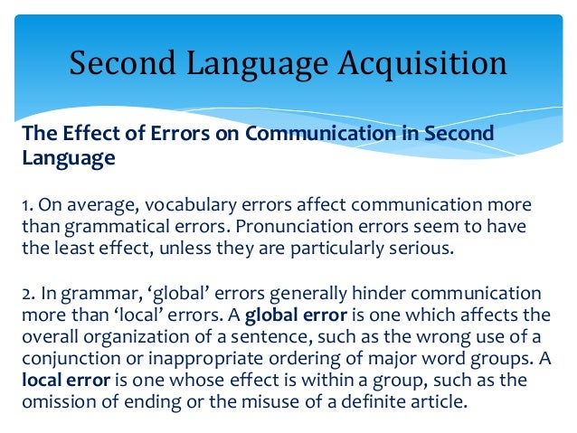 ARTICLE ON LANGUAGE ACQUISITION EBOOK DOWNLOAD