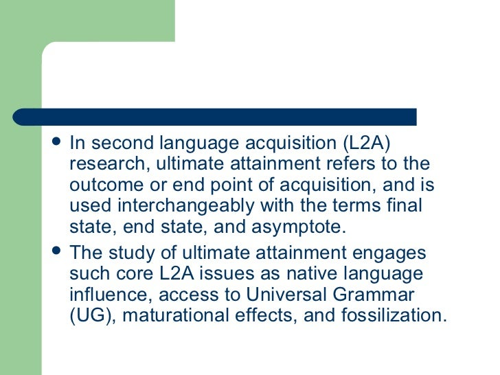 second language aqcuisation Books shelved as second-language-acquisition: introducing second language acquisition by muriel saville-troike, alternative approaches to second language.