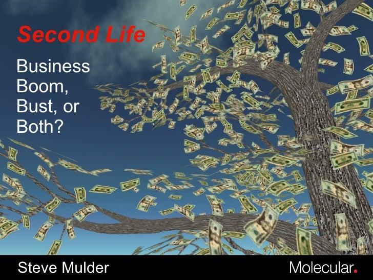 Second Life Steve Mulder Business Boom, Bust, or Both?