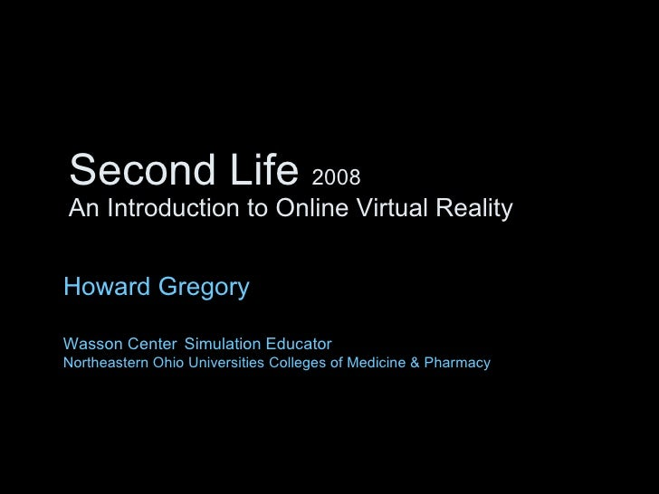 Introduction to virtual life