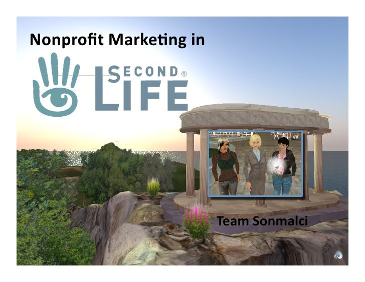 Nonprofit	   Marke-ng	   in	                                         Team	   Sonmalci
