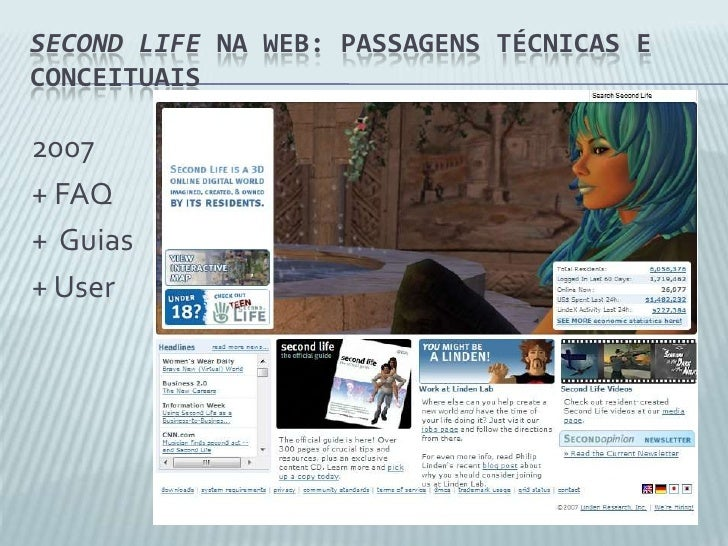 Second life dating website