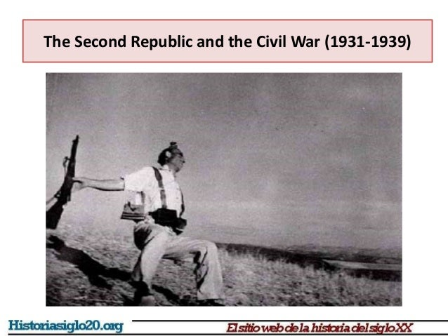The Second Republic and the Civil War (1931-1939)