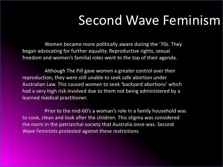 second wave of feminism pdf