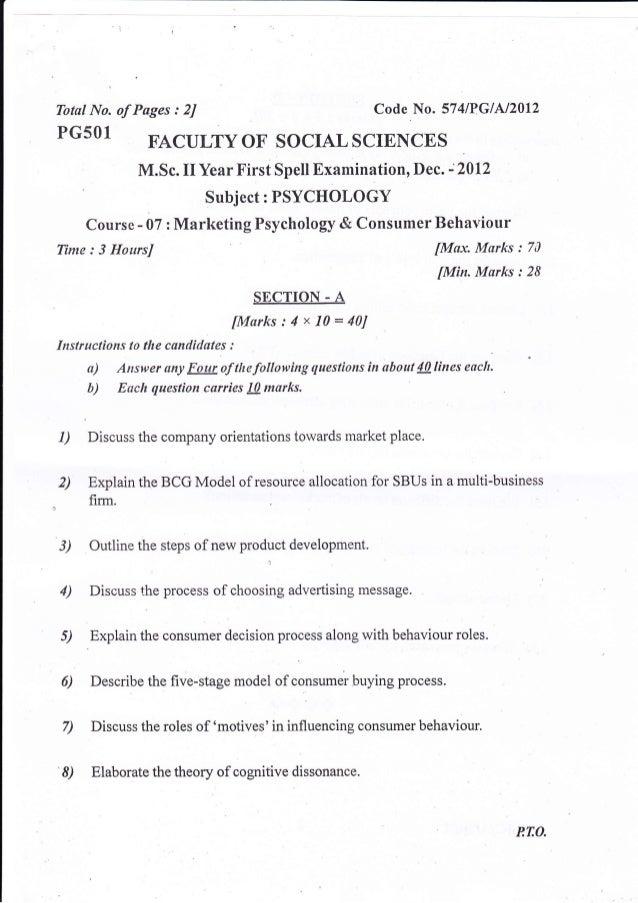 DR  BR  AMBEDKAR UNIVERSITY DISTANE EDUCATION Second year 2011 paper …