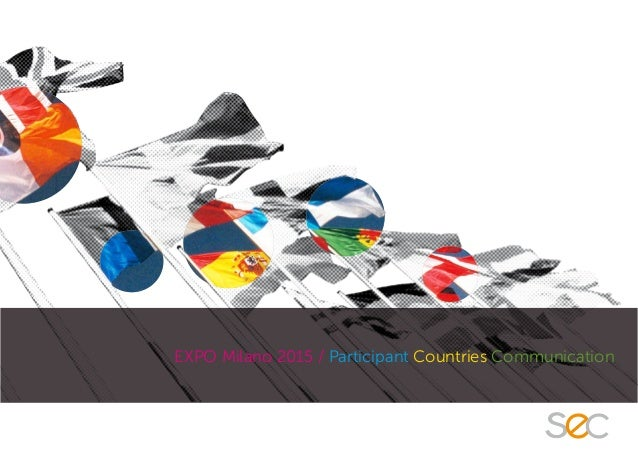 EXPO Milano 2015 / Participant Countries Communication