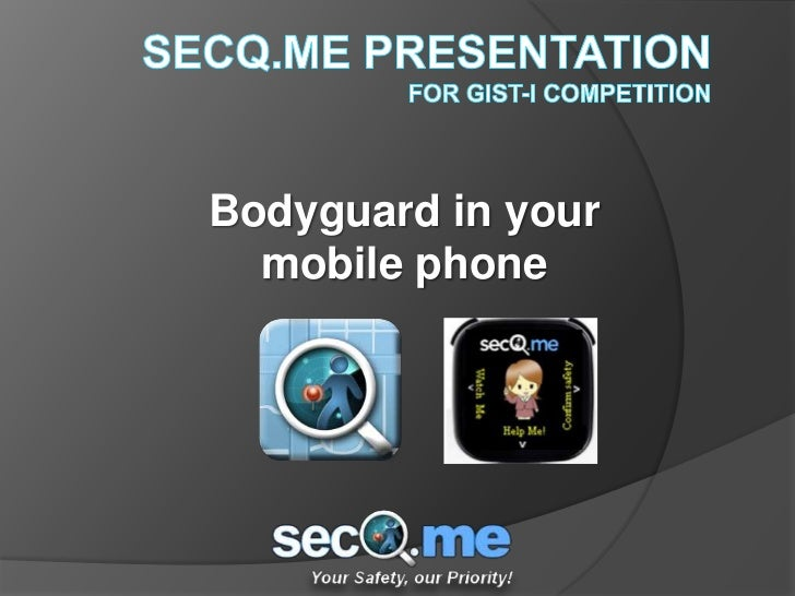 Bodyguard in your  mobile phone