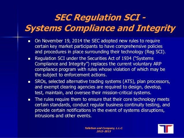 Sec regulation alternative trading system