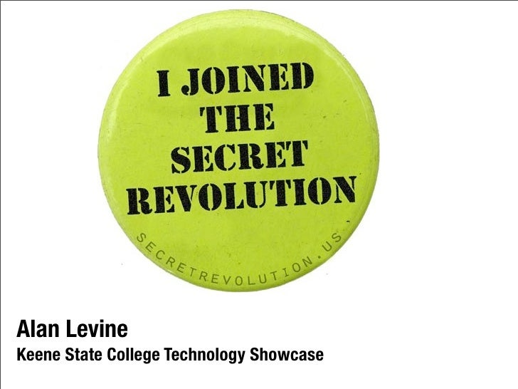Alan LevineKeene State College Technology Showcase