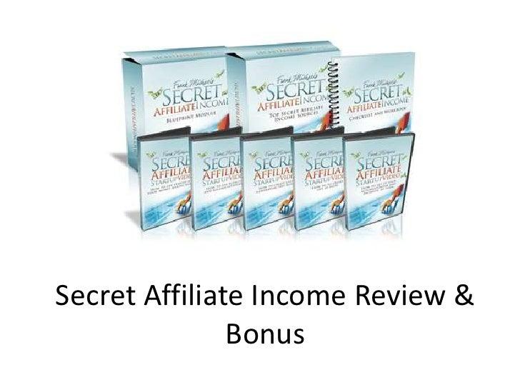 SecretAffiliateIncomeReview & Bonus<br />