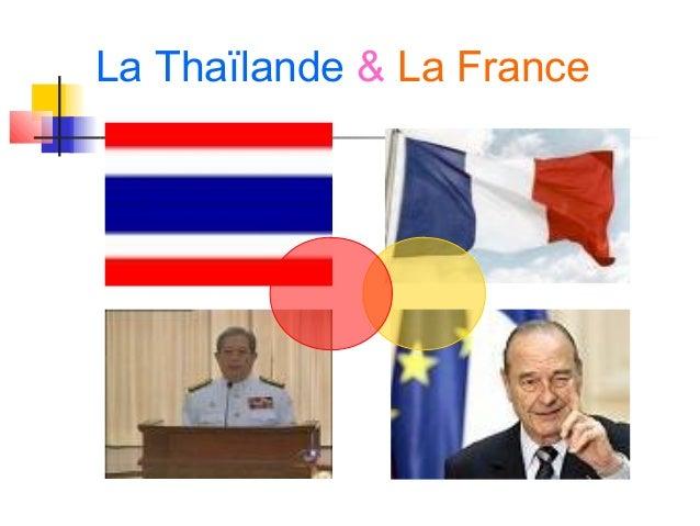 La Thaïlande & La France
