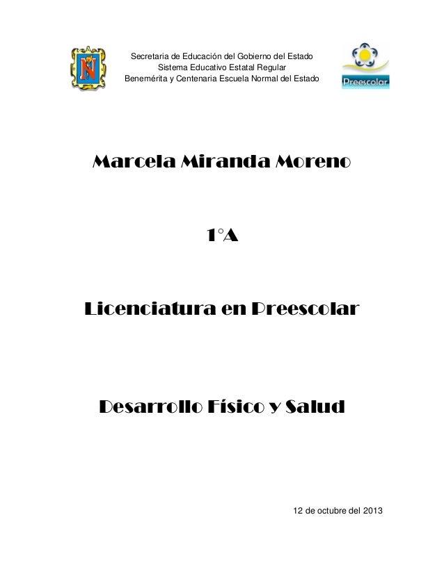 Secretaria de Educación del Gobierno del Estado Sistema Educativo Estatal Regular Benemérita y Centenaria Escuela Normal d...