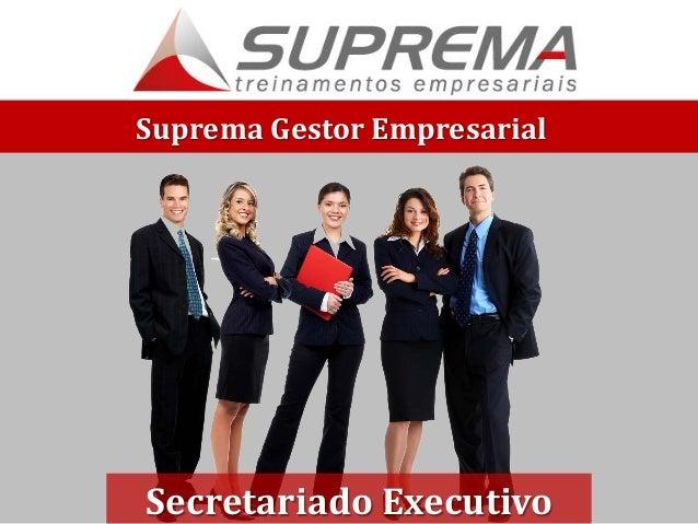 Suprema Gestor Empresarial Secretariado Executivo