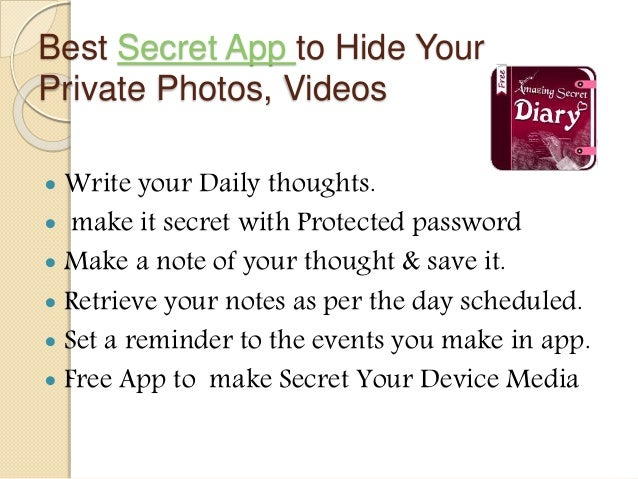 write a secret diary online