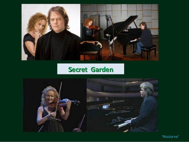 """Secret Garden                """"Nocturne"""""""