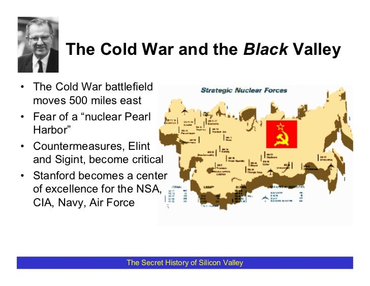 """The Cold War and the Black Valley  • The Cold War battlefield   moves 500 miles east • Fear of a """"nuclear Pearl   Harbor"""" ..."""