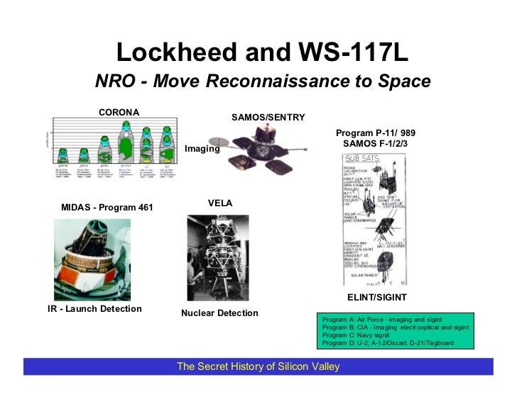 Lockheed and WS-117L           NRO - Move Reconnaissance to Space            CORONA                                     SA...