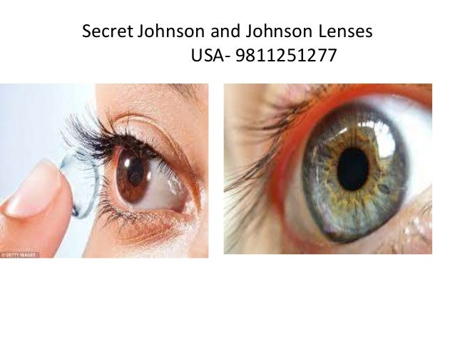 Secret Johnson and Johnson Lenses USA -9811251277; 3.