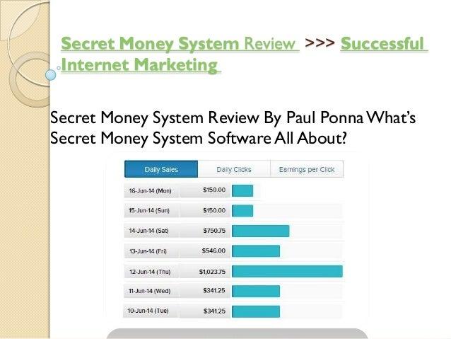 Successful>>>ReviewSecret Money System Internet Marketing Secret Money System Review By Paul PonnaWhat's Secret Money Syst...