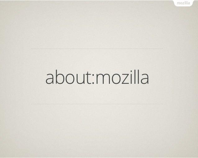 about:mozilla