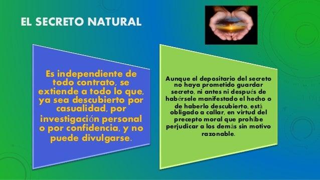 natural secreto