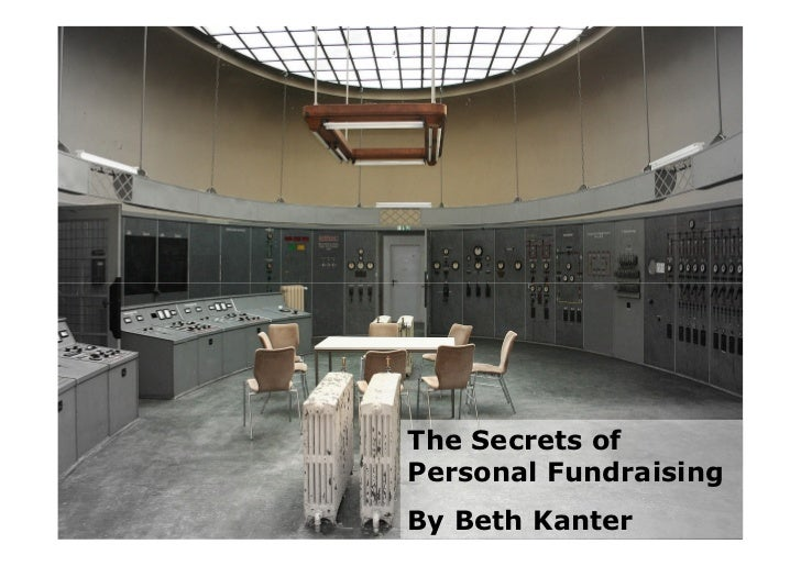 The Secrets of Personal Fundraising By Beth Kanter