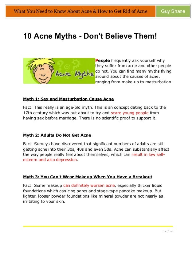 how to get rid of acne really fast