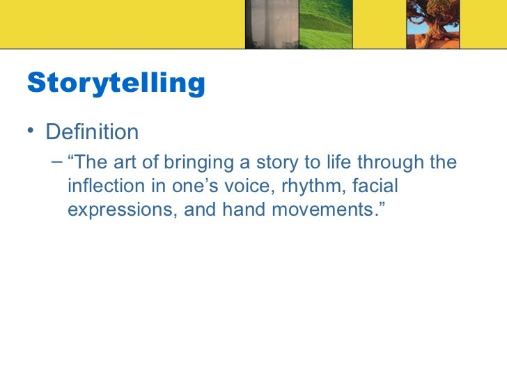 how storytelling improves childrens ability to recall events Why your brain loves good storytelling paul j  our ability to experience  points a speaker wishes to make and enable better recall of these.