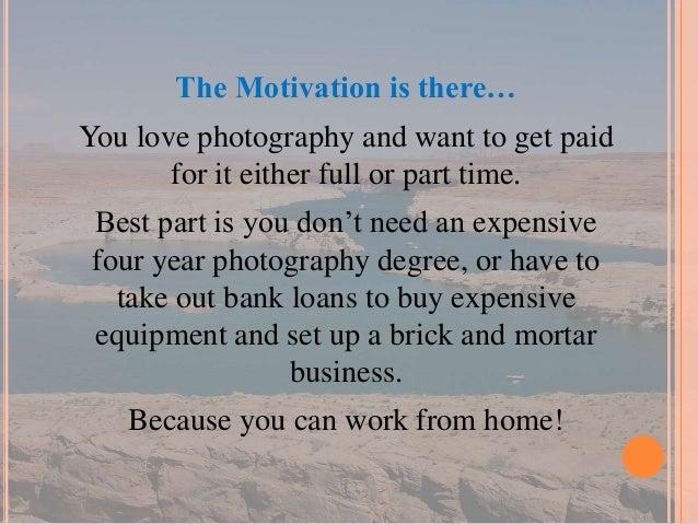 Secrets for photography business success Slide 2