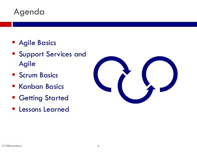 Secrets Of A Scrum Master Agile Practices For The Service