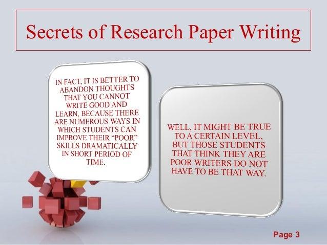 Secrets essay writing
