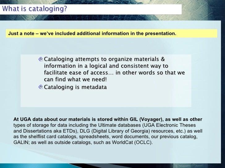 thesis cataloging rda