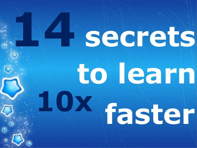 LOGO secrets to learn 10x faster 14
