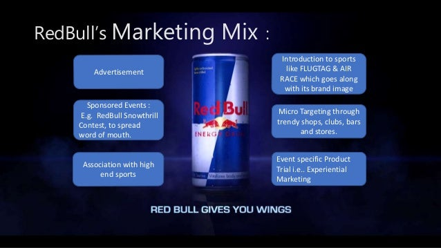 red bull product mix
