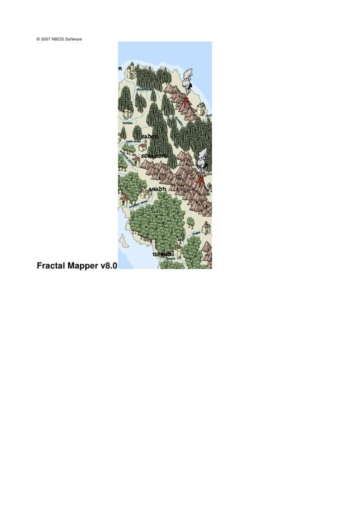 <br />© 2007 NBOS SoftwareFractal Mapper v8.0<br /><br /><br />Fractal Mapper v8.0I<br />© 2007 NBOS SoftwareTabla de ...