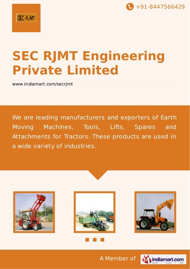+91-8447566429  SEC RJMT Engineering Private Limited www.indiamart.com/secrjmt  We are leading manufacturers and exporters...