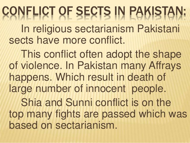 essay regarding sectarian assault in pakistan