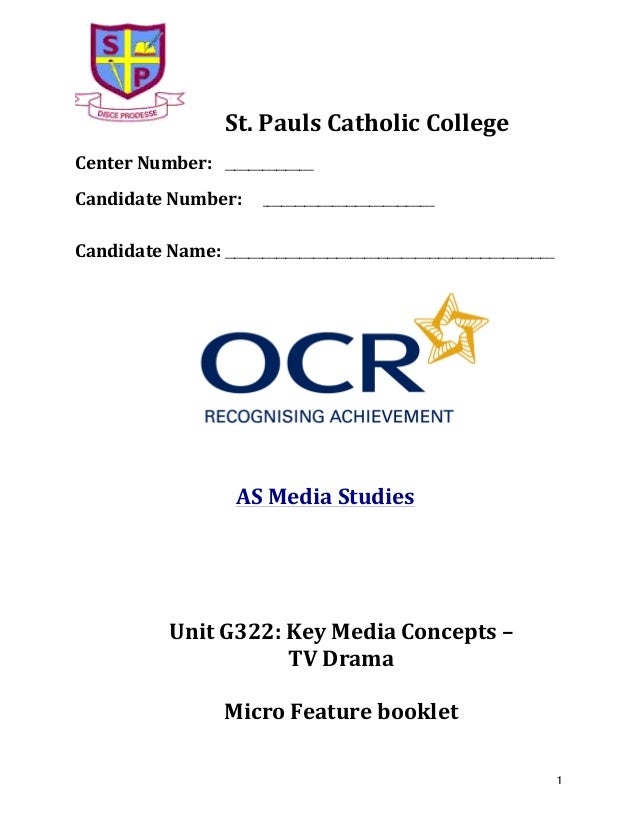 St.  Pauls  Catholic  College        Center  Number:    ___________________        Candidate  Numbe...
