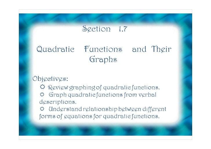 HPC Section 1.7