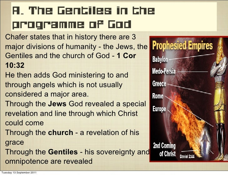Chafer Bible Doctrines Gentiles In History Amp Prophecy