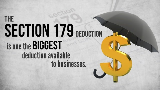 Section 179 Deduction 2013 - The Ultimate Guide