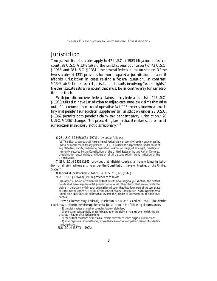 Section 1983 Litigation by Karen Blum - 136 pages